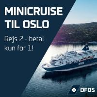 MiniCruise til Oslo - Spar 50%